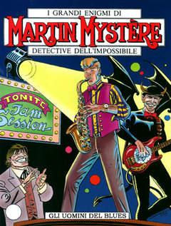 Copertina MARTIN MYSTERE n.261 - Gli uomini del blues, BONELLI EDITORE