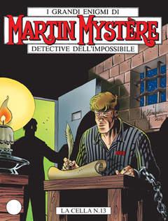 Copertina MARTIN MYSTERE n.274 - La cella N.13, BONELLI EDITORE