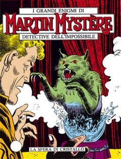 Copertina MARTIN MYSTERE n.28 - La sfera di cristallo, BONELLI EDITORE