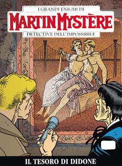 Copertina MARTIN MYSTERE n.308 - Il tesoro di Didone, BONELLI EDITORE