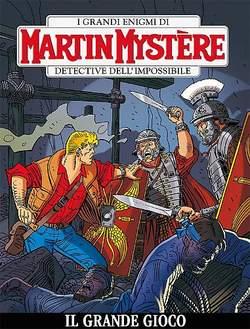 Copertina MARTIN MYSTERE n.348 - Il grande gioco, BONELLI EDITORE