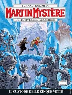 Copertina MARTIN MYSTERE n.359 - Il custode delle cinque vette, BONELLI EDITORE