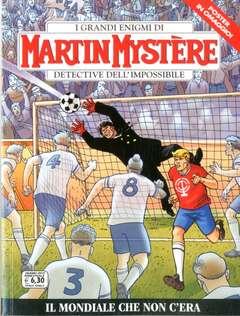 Copertina MARTIN MYSTERE n.363 - Il mondiale che non c'era, BONELLI EDITORE