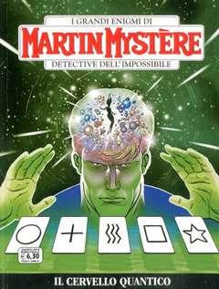 Copertina MARTIN MYSTERE n.364 - Il Cervello Quantico, BONELLI EDITORE