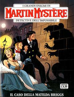 Copertina MARTIN MYSTERE n.370 - IL CASO DELLA MATILDA BRIGGS, BONELLI EDITORE