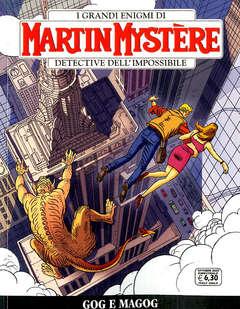 Copertina MARTIN MYSTERE n.371 - GOG E MAGOG, BONELLI EDITORE