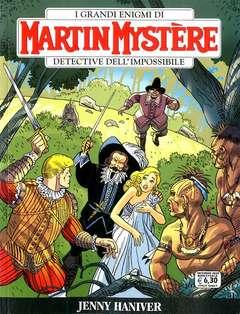 Copertina MARTIN MYSTERE n.372 - JENNY HANIVER, BONELLI EDITORE