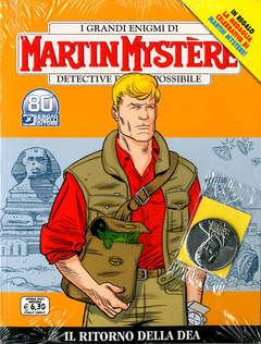 Copertina MARTIN MYSTERE n.374 - IL RITORNO DELLA DEA (+ Medaglia MARTIN MYSTERE), BONELLI EDITORE