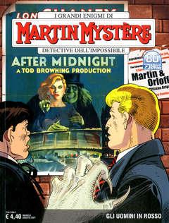 Copertina MARTIN MYSTERE n.378 - GLI UOMINI IN ROSSO, BONELLI EDITORE