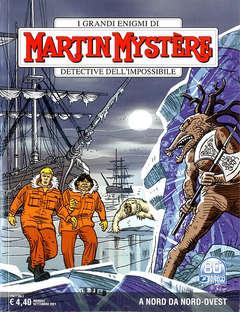 Copertina MARTIN MYSTERE n.379 - A NORD DA NORD-OVEST, BONELLI EDITORE
