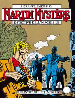 Copertina MARTIN MYSTERE n.44 - Il principe delle tenebre, BONELLI EDITORE