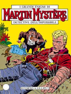 Copertina MARTIN MYSTERE n.54 - Ritorno a Lilliput, BONELLI EDITORE
