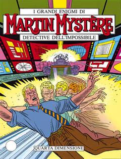 Copertina MARTIN MYSTERE n.62 - Quarta dimensione, BONELLI EDITORE