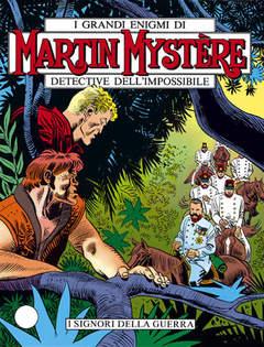 Copertina MARTIN MYSTERE n.68 - I Signori della Guerra, BONELLI EDITORE