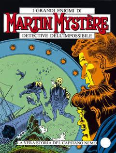 Copertina MARTIN MYSTERE n.69 - La vera storia del capitano Nemo, BONELLI EDITORE