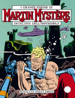 Copertina MARTIN MYSTERE n.70 - Minaccia dagli abissi, BONELLI EDITORE