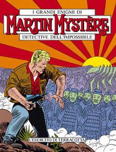 Copertina MARTIN MYSTERE n.74 - L'esercito di terracotta, BONELLI EDITORE