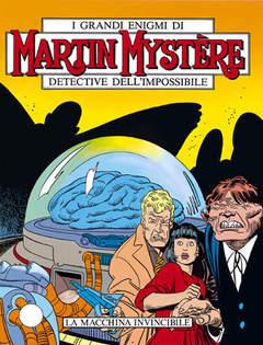 Copertina MARTIN MYSTERE n.80 - La macchina invincibile, BONELLI EDITORE