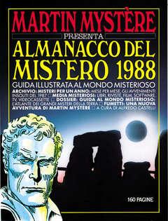 Copertina MARTIN MYSTERE ALMANACCO DEL MISTERO n.1988 - Nostra Terra dei Mysteri, BONELLI EDITORE