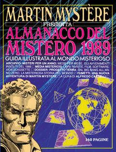 Copertina MARTIN MYSTERE ALMANACCO DEL MISTERO n.1989 - La scintilla, BONELLI EDITORE