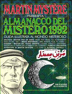 Copertina MARTIN MYSTERE ALMANACCO DEL MISTERO n.1992 - Ritorno all'Eden, BONELLI EDITORE