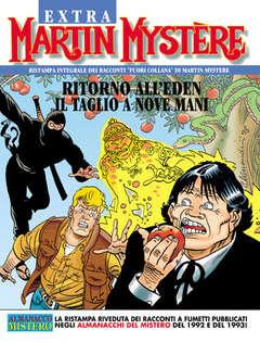 Copertina MARTIN MYSTERE EXTRA n.14 - Ritorno all'Eden - Il taglio a nove mani, BONELLI EDITORE