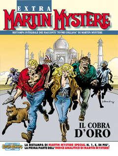 Copertina MARTIN MYSTERE EXTRA n.1 - Il cobra d'oro, BONELLI EDITORE