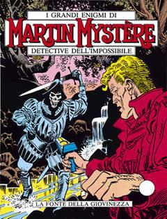 Copertina MARTIN MYSTERE n.8 - La fonte della giovinezza, BONELLI EDITORE