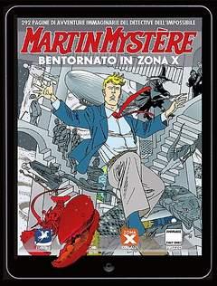 Copertina MARTIN MYSTERE MAXI n.5 - Bentornato in Zona X, BONELLI EDITORE