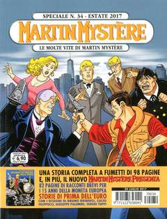 Copertina MARTIN MYSTERE SPECIALE n.34 - LE MOLTE VITE DI MARTIN MYSTERE, BONELLI EDITORE