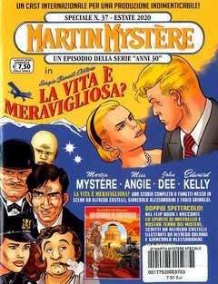 Copertina MARTIN MYSTERE SPECIALE n.37 - LA VITA E' MERAVIGLIOSA?/LO SPIRITO DI RAFFAELLO, BONELLI EDITORE