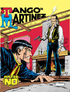 Copertina MISTER NO n.12 - Tango Martinez, BONELLI EDITORE