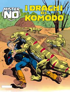 Copertina MISTER NO n.127 - I draghi di Komodo, BONELLI EDITORE