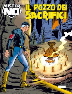 Copertina MISTER NO n.163 - Il pozzo dei sacrifici, BONELLI EDITORE