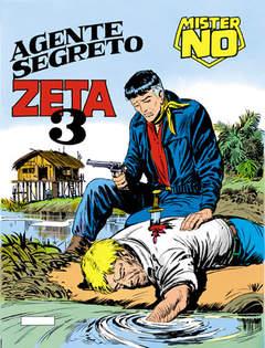 Copertina MISTER NO n.17 - Agente segreto Zeta 3, BONELLI EDITORE