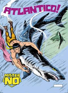 Copertina MISTER NO n.24 - Atlantico!, BONELLI EDITORE