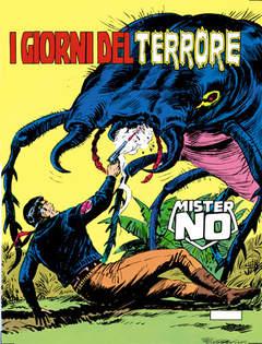 Copertina MISTER NO n.42 - I giorni del terrore, BONELLI EDITORE
