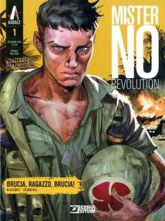 Copertina MISTER NO REVOLUTION n.1 - Brucia, ragazzo, brucia!, BONELLI EDITORE