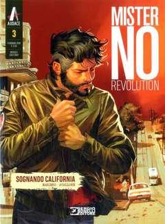 Copertina MISTER NO REVOLUTION n.3 - Sognando California, BONELLI EDITORE