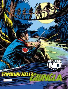 Copertina MISTER NO n.7 - Tamburi nella giungla, BONELLI EDITORE