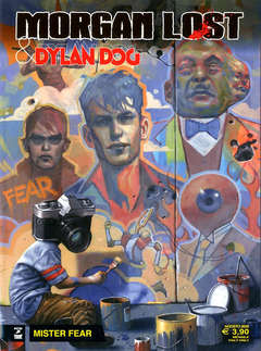 Copertina MORGAN LOST & DYLAN DOG II m2 n.1 - MISTER FEAR, BONELLI EDITORE