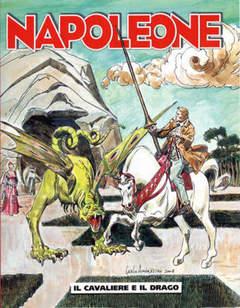 Copertina NAPOLEONE n.40 - Il Cavaliere e il Drago, BONELLI EDITORE