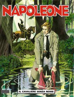 Copertina NAPOLEONE n.2 - Il cavaliere senza nome, BONELLI EDITORE