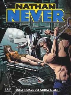 Copertina NATHAN NEVER n.267 - Sulle tracce del serial killer, BONELLI EDITORE