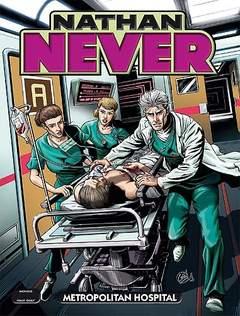 Copertina NATHAN NEVER n.296 - Metropolitan Hospital, BONELLI EDITORE