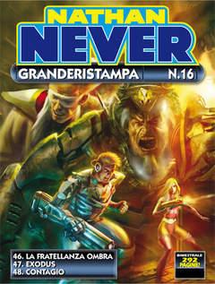 Copertina NATHAN NEVER GRANDERISTAMPA n.16 - Nathan Never Granderistampa n. 16, BONELLI EDITORE
