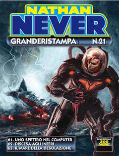 Copertina NATHAN NEVER GRANDERISTAMPA n.21 - Nathan Never GrandeRistampa n. 21, BONELLI EDITORE