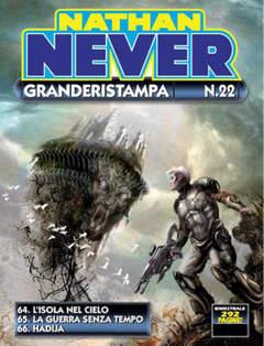 Copertina NATHAN NEVER GRANDERISTAMPA n.22 - NATHAN NEVER GRANDERISTAMPA, BONELLI EDITORE