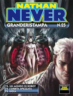 Copertina NATHAN NEVER GRANDERISTAMPA n.25 - Nathan Never GrandeRistampa 25, BONELLI EDITORE