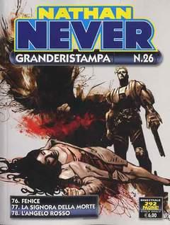 Copertina NATHAN NEVER GRANDERISTAMPA n.26 - Nathan Never GrandeRistampa n° 26, BONELLI EDITORE